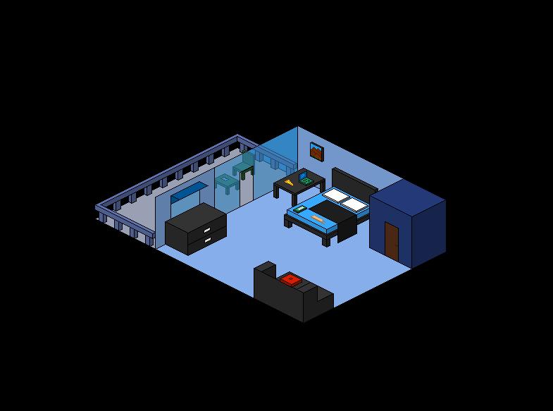 nlscsi chad mateo pixel art hotel room