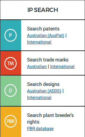 Search your IP idea